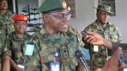 Chief of army staff Lt. General Faruk Yahaya