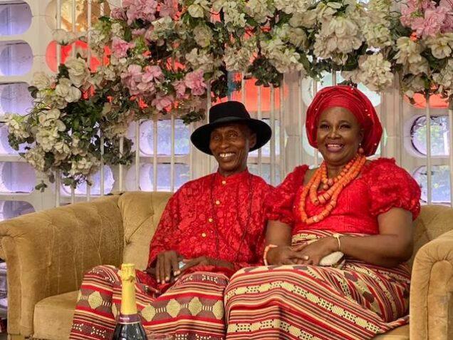 Erumena Amata and her husband Pastor Benjamin Akpoghene Adaiah