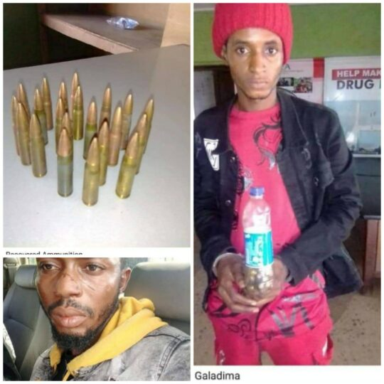 Fake soldier Hayatu Galadima  nabbed