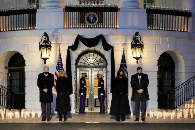 Flashback: february 2021, when Biden, Kamala Harris mourn 500,000 COVID deaths