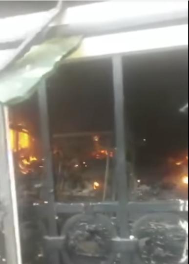 Igbokwe's home set ablaze in Nnewi Anambra
