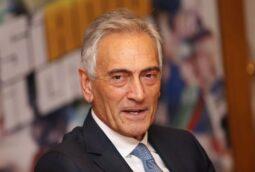 Italian soccer chief Gabriele Gravina