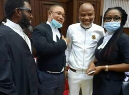 Kanu and his lawyers