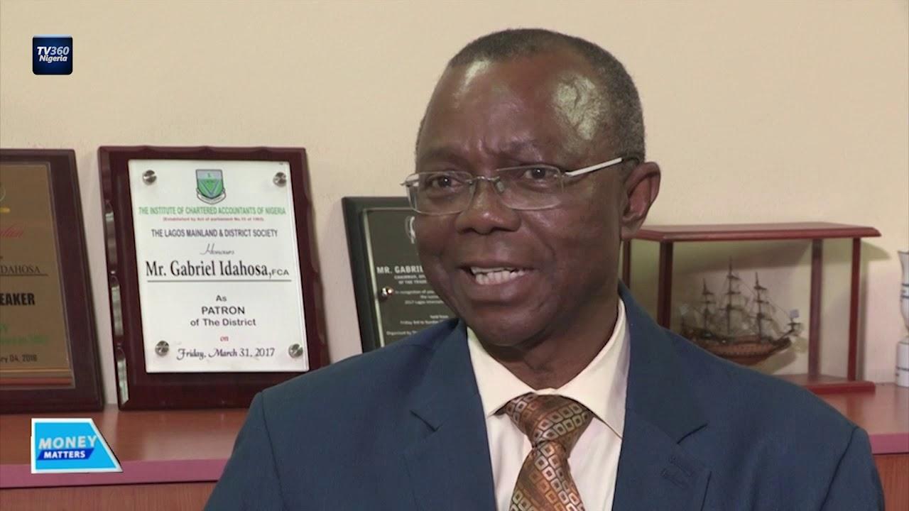 LCCI Chairman, Trade Promotion Board, Mr Gabriel Idahosa
