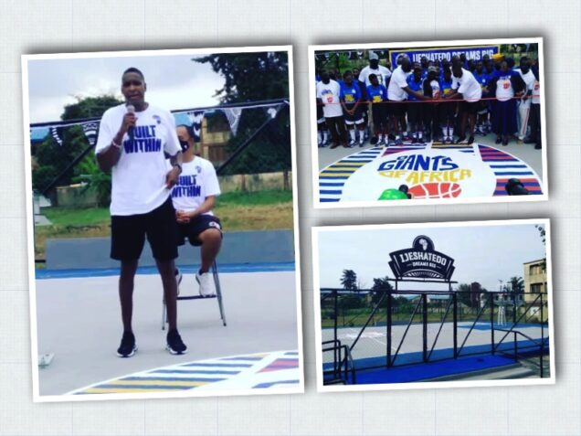 Masai Ujiri of Giant of Africa Foundation unveils 4 basketabll courts in Lagos