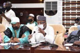 Minister of Agriculture Mohammed Abubakar