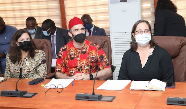 Other members of U.S. Mission delegation to Abia