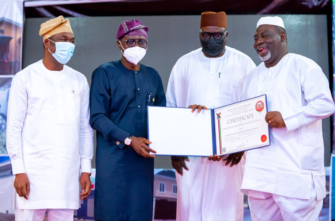 Building Collapse: All houses in Lagos to now have fitness certificates -  Sanwo-Olu - P.M. News