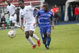 Rivers United v Al Hilal in the first leg in Port Harcourt