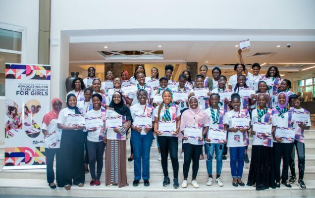 Cross section of participants at a  three-day  intensive workshop on advocacy, girls' education and school safety, organised by Malala Fund: They demanded for safer schools for Nigerian girls