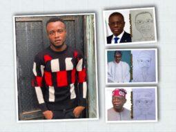 Taiwo Osinowo a.k.a bodataiye Oniyakuya and his caricatures